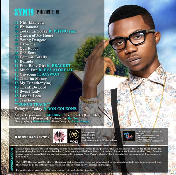 Sym19 Tracklist