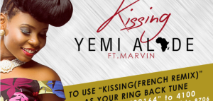 Yemi Alade Ft. Marvin – Kissing (French Remix)